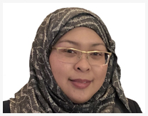 Ms. Hajah Najmina Fairuz Binti Haji Abd Latif, Chairperson of ASJA International, President of Brunei Association of Japan Alumni (BAJA)
