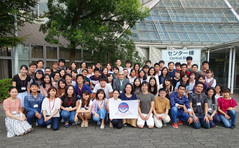 アセアン国費留学生と日本人大学生との国際交流ワークショップ