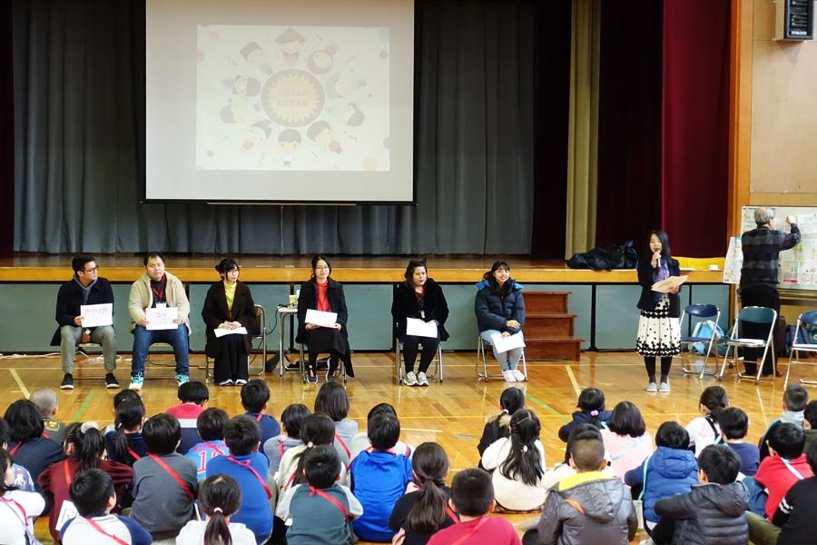 令和元年度アスジャ事業「国際理解教育のための学校訪問」